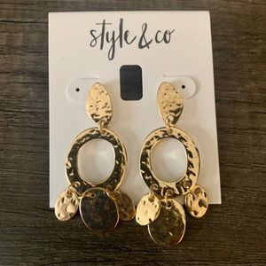 Style & Co Gold Earrings